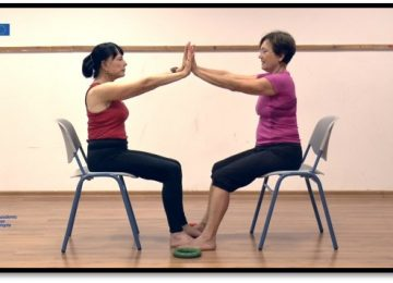 Effects of Different Chair-Based Exercises on Salivary Biomarkers and Functional Autonomy in Institutionalized Older Women
