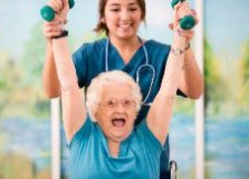 A multicomponent exercise program improves physical function in long-term nursing home residents: A randomized controlled trial