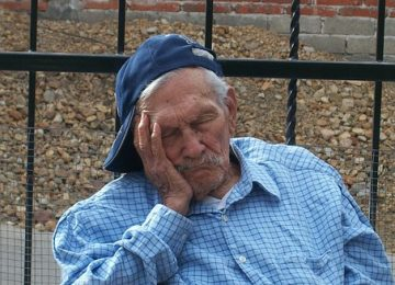 Sleep Duration and Sleep Quality Are Associated with Physical Activity in Elderly People Living in Nursing Homes