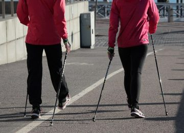Improvement of cognitive functions in response to a regular Nordic walking training in elderly women – A change dependent on the training experience.