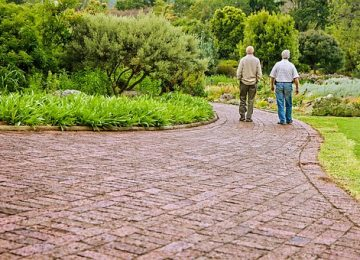 Associations between Perceived Outdoor Environment and Walking Modifications in Community-Dwelling Older People: A Two-Year Follow-Up Study